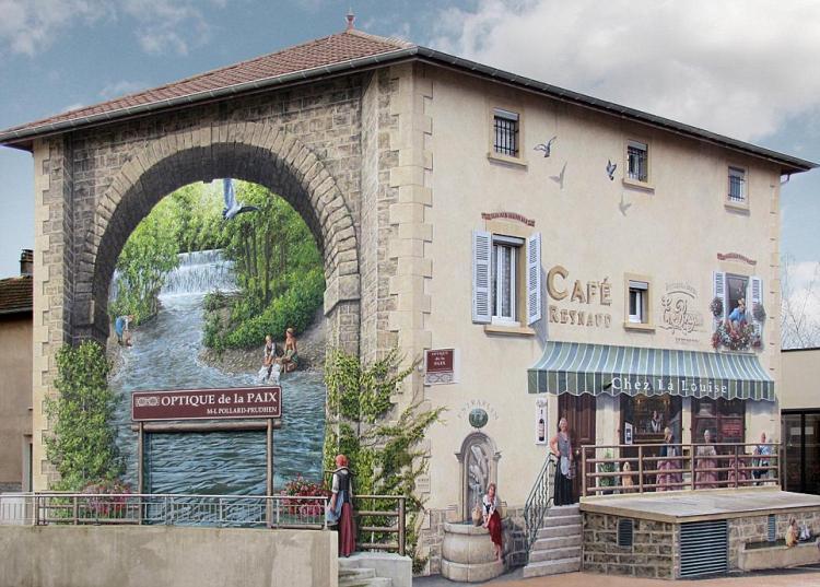 3D Реалистично Изрисувани Фасади на Сгради