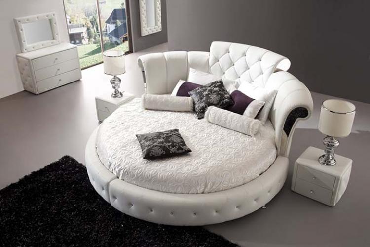 Кръгло легло за повече романтика в спалнята
