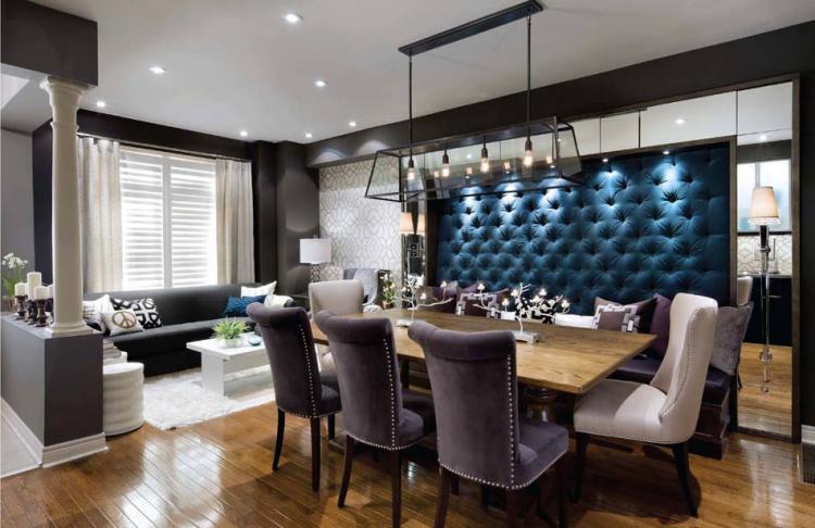 Кадифени столове за елегантна и луксозна атмосфера в дома