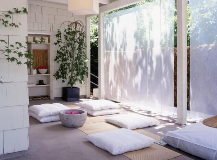 място за медитация в дома си