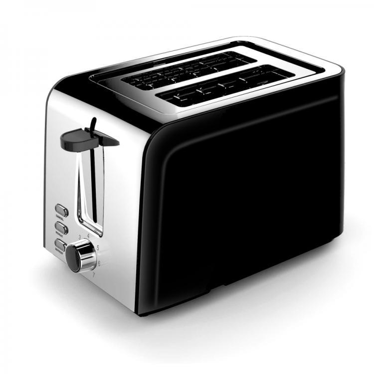 Тостер за хляб ZEPHYR Zvezdev Collection ZP 1440 ZV, 850W, 2 филийки, Черен