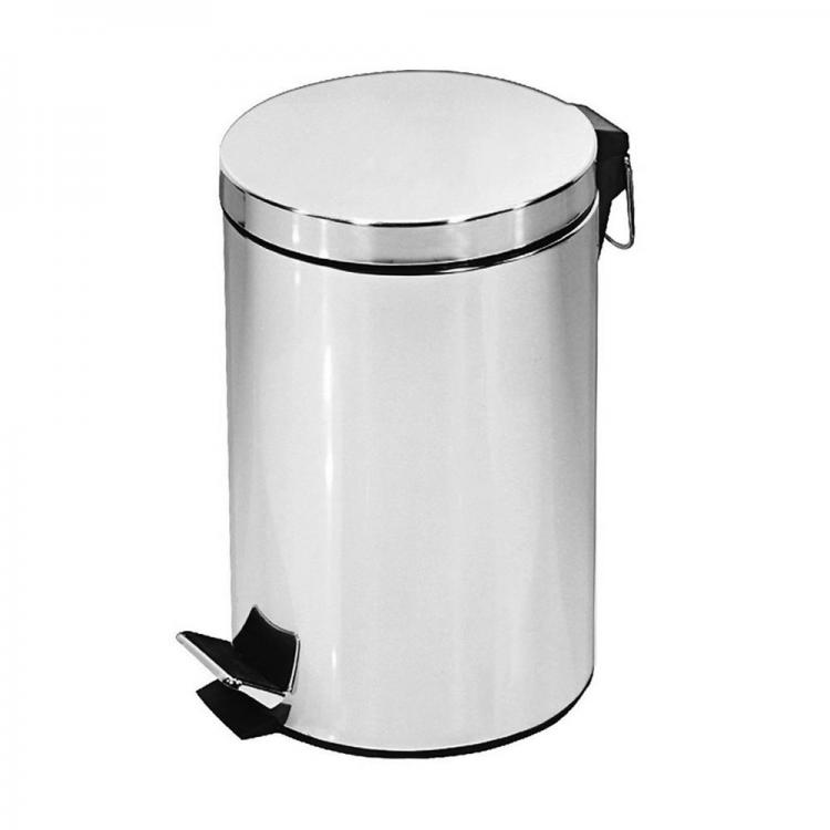 Кошче за боклук SAPIR SP 3007 C, 12 литра, Инокс