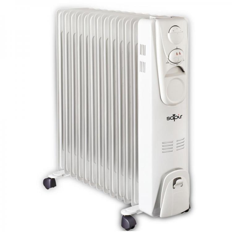 Радиатор SAPIR SP 1971 F13,до 2500W, 13 ребра, 3 степени, Регулируем термостат
