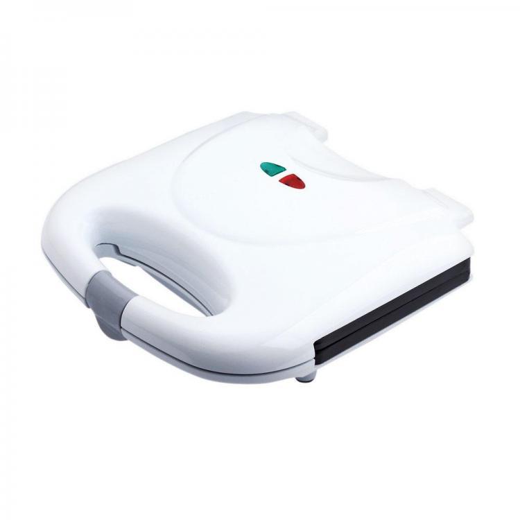 Тостер за сандвичи SAPIR SP 1442 AF, 800W, Грил плочи, Бял