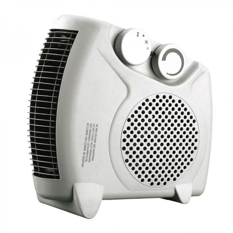 Вентилаторна печка - духалка SAPIR SP 1970 F, 2000W, 3 степени, Отопление/Охлаждане
