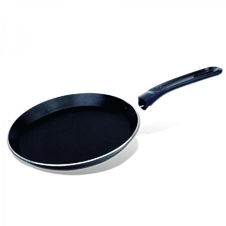 Тиган за палачинки SAPIR SP 1322 A24, 24 см, Черен