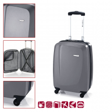 Gabol ABS куфар 55 см сив - Line 11232216