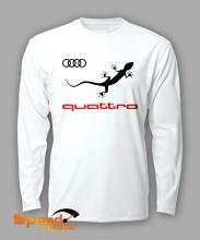 Блуза с дълъг ръкав Ауди Куатро (Audi Quattro)
