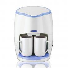 Кафемашина с подарък 2 чаши SAPIR SP 1170 L, 450W, LED индикатор, Бяла