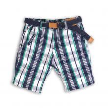 Карирани панталони с колан