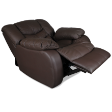Кожен фотьойл с релакс механизъм AMANDA