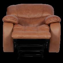 Кожен фотьойл с релакс механизъм LOUISA