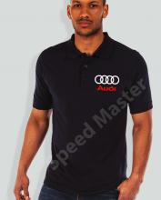 Поло риза с емблема Audi