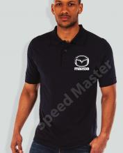 Поло риза с емблема Mazda
