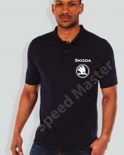Поло риза с емблема Skoda