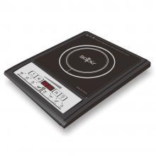 Индукционен котлон SAPIR SP 1445 QG, Стъклокерамична плоча 188 мм, 2000W, LED екран, 7 функции, 8 степени, Черен